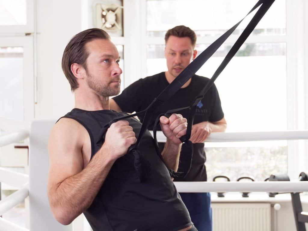 Personal Training Hamburg - Functional Training mit Sling Trainer / TRX